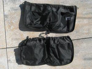 Vergleich der Taschen